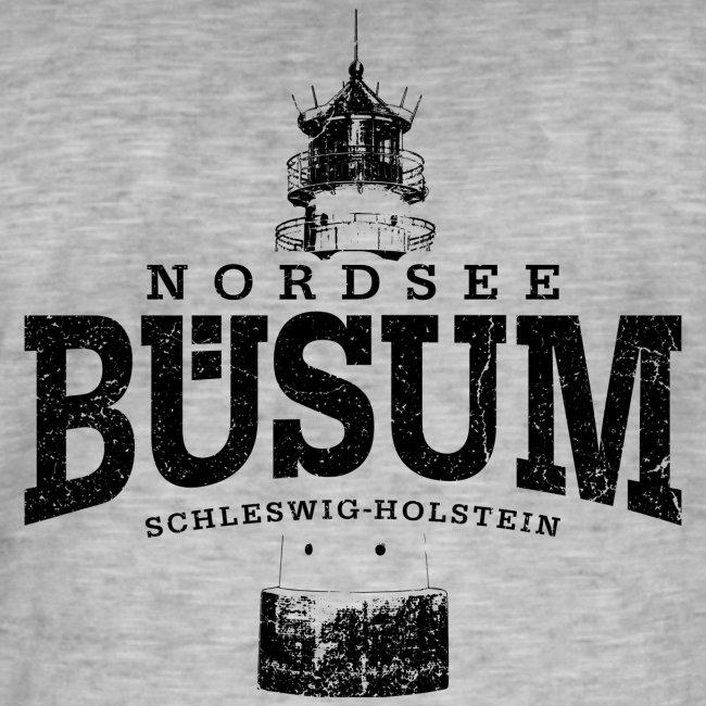 Büsum Nordsee (schwarz oldstyle)