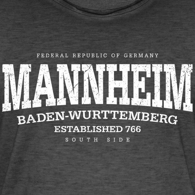 Mannheim (white oldstyle Edt. '13)