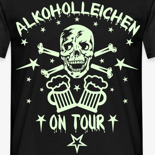 Skull Alkoholleichen on Tour Alkohol Beer Bier BFF