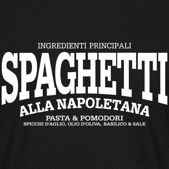 Spaghetti alla Napoletana (weiss)