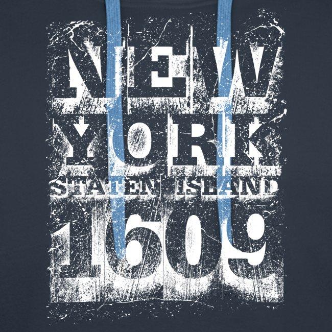 New York Staten Island 1609 (white)