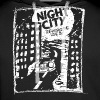 Night City (1c white) - Felpa con cappuccio premium da uomo