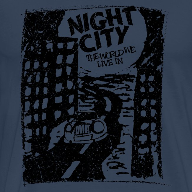 Night City (1c black)