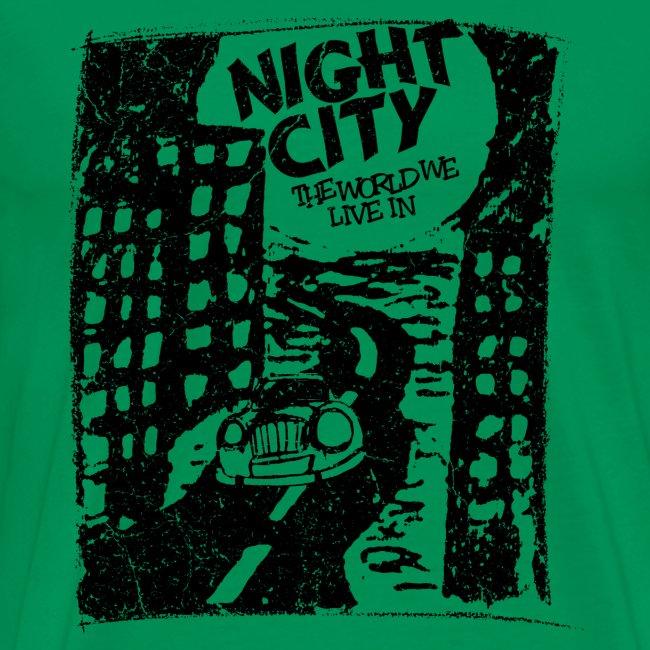 Night City (1c black)