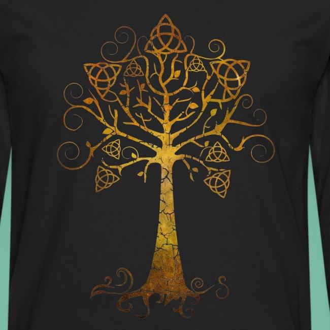 Tshirt manches longues arbre phare Brocéliande Spirit