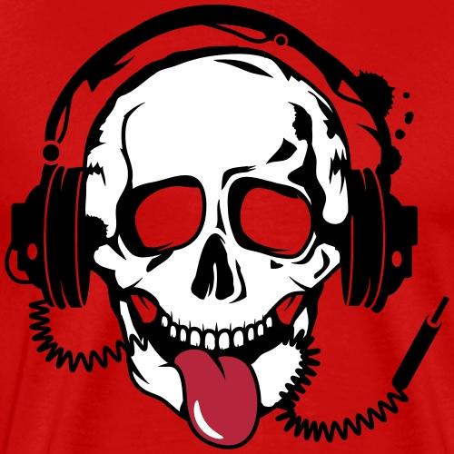 Skull mit Kopfhörer