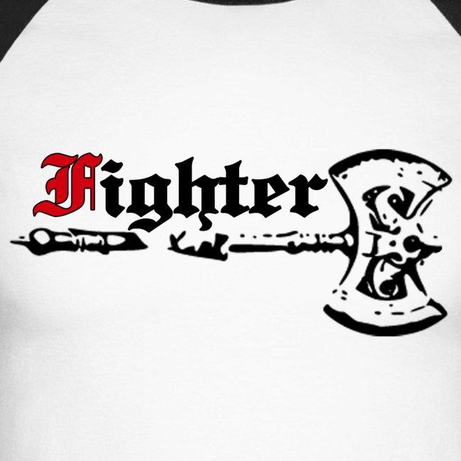 """langärmeliges Baseballshirt """"Fighter"""""""