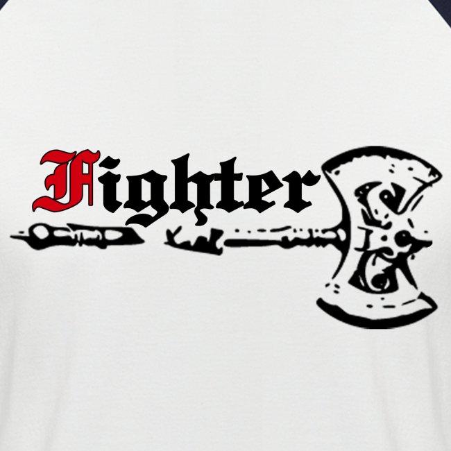 """Kurzärmeliges Baseballshirt """"Fighter"""""""