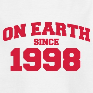 Weiß on earth 1998 Kinder T-Shirts - Teenager T-Shirt