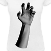 The hand - Gir l- Col V - T-shirt bio col V Stanley & Stella Femme