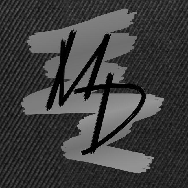 Gorra plana Logo Original MD color gris
