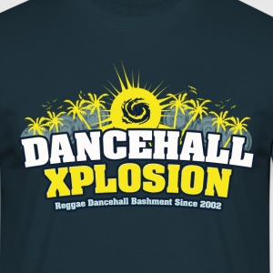 Dancehall Xplosion Shirt Men navy - Männer T-Shirt
