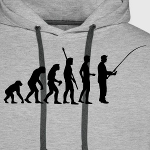 evolution_fishing Hoodies & Sweatshirts - Men's Premium Hoodie