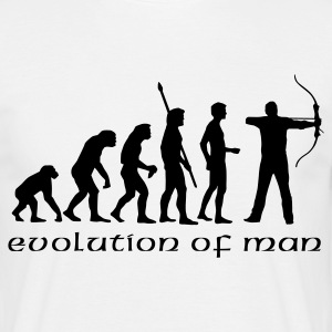 evolution_bogenschiessen_b T-Shirts - Men's T-Shirt
