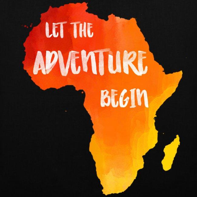 Tasche Afrika Karte