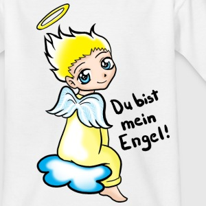 Weiß Du bist mein Engel Kinder T-Shirts - Teenager T-Shirt