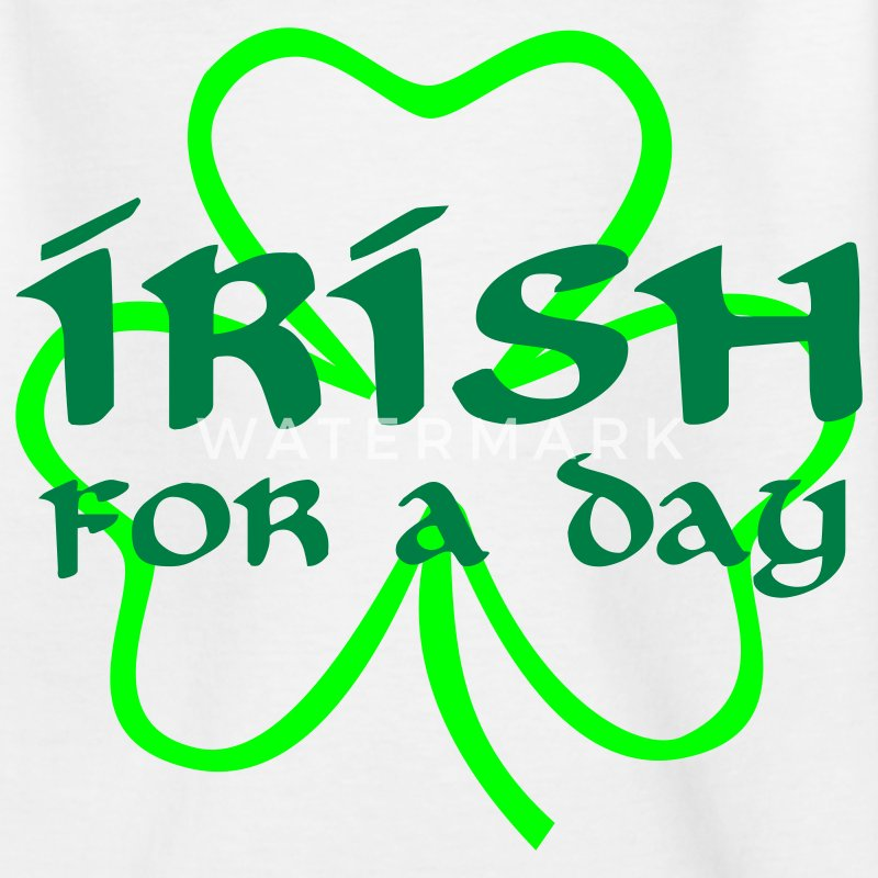 St. Patricks day - Teenage T-shirt