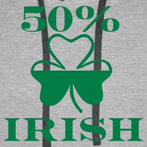 Irish - St. Patricks day - Men's Premium Hoodie