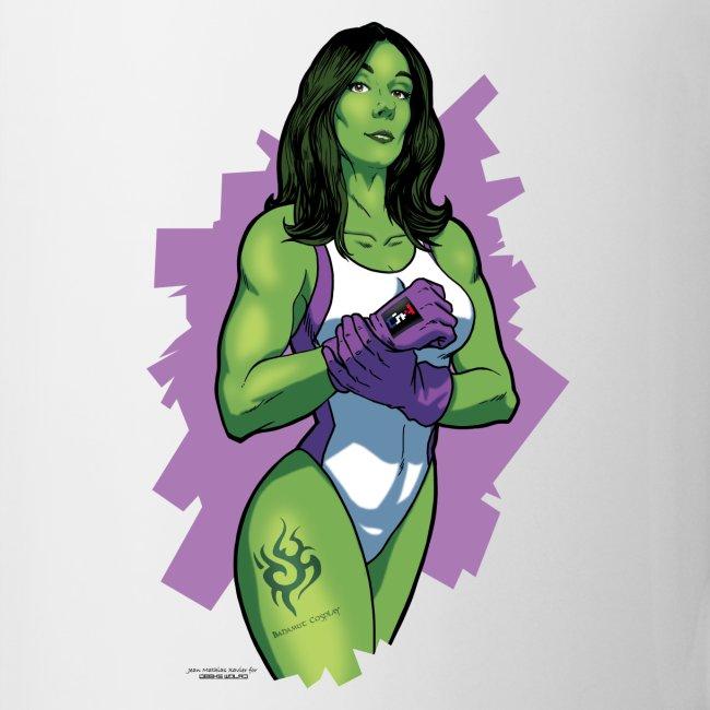 Tasse Bahamut Mrs Hulk