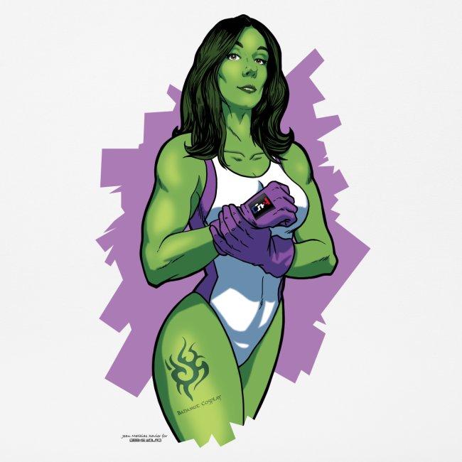 Tapis souris Bahamut Mrs Hulk