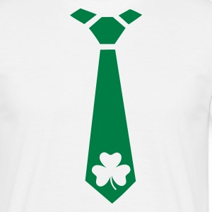 Shamrock - Tie - Men's T-Shirt