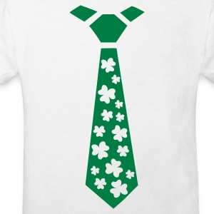 Shamrocks - Tie - Kids' Organic T-shirt