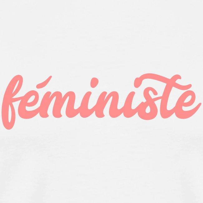 """t-shirt """"féministe"""""""