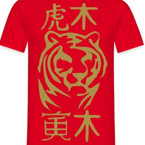YEAR OF THE TIGER OF WOODS  - T-shirt Homme