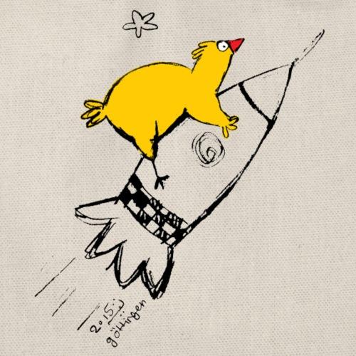 Chicken on the Rocket