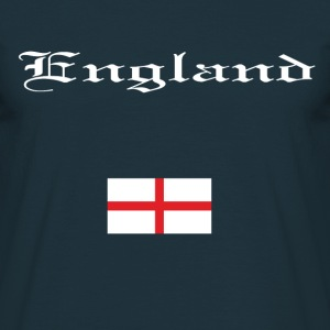 Navy English flag Men's T-Shirts - Men's T-Shirt
