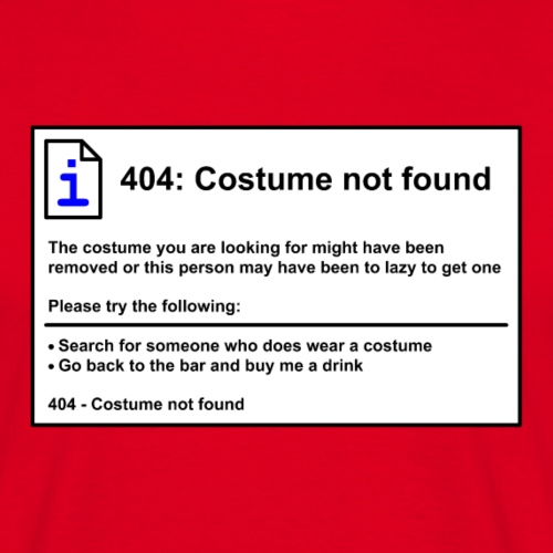404: CostumeNotFound x4