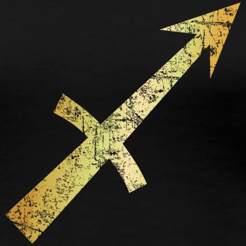 Sternzeichen Schütze (Ancient Gold)