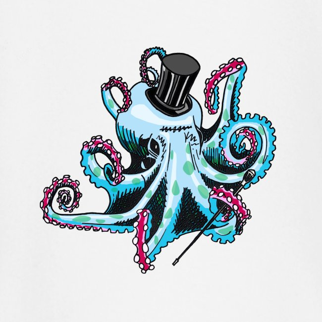 Gentleman Octopus Toddlers Tee