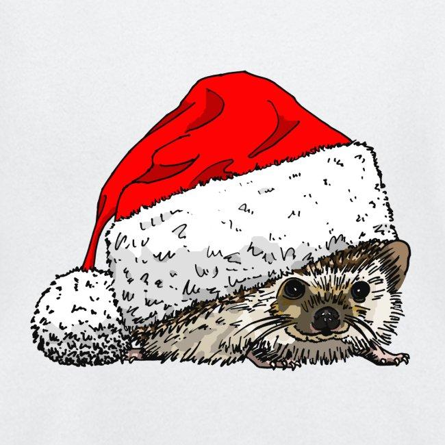 Cute Christmas Hedgehog Toddler's Tee