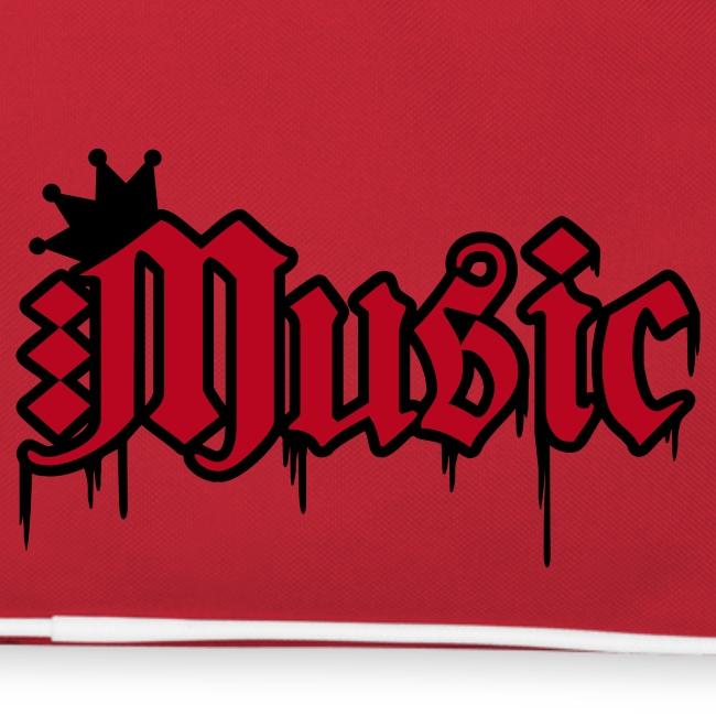 """Retroveske med """"Music""""."""