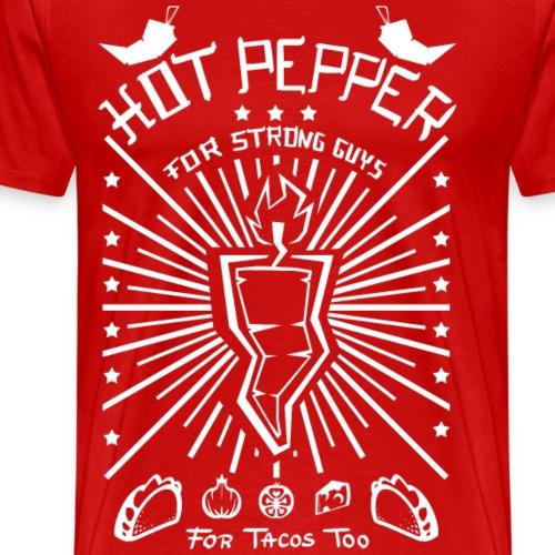 Hot Pepper For Strong Guy