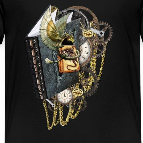 Steampunk dragon books