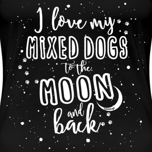 Mixed Dogs Moon