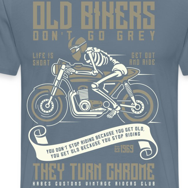 Old Bikers Turn Chrome
