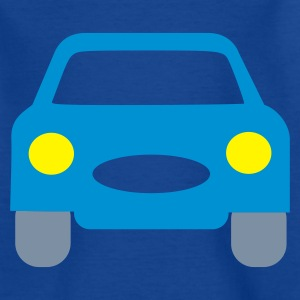 Navy normal_car Kinder shirts - Teenager T-shirt
