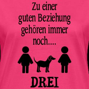 """Shirts mit Tier-Motiv """"Paar Hund Beziehung Spruch"""""""