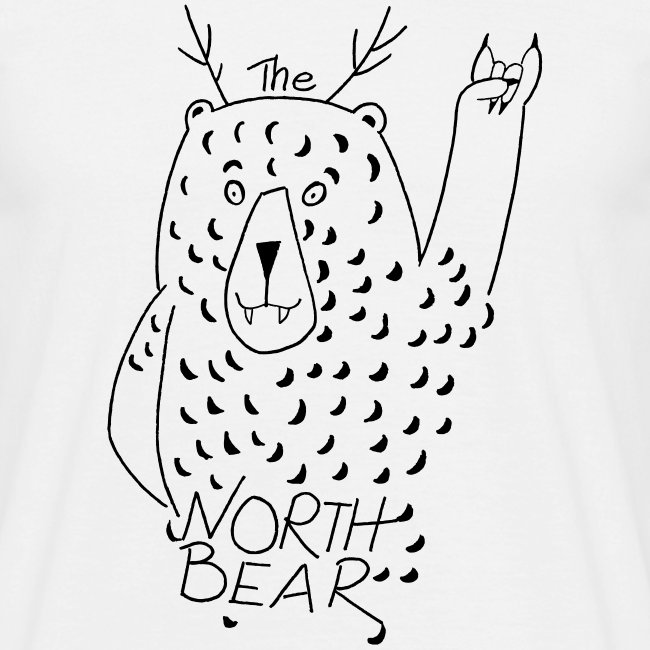 The Northbear Männer T-Shirt