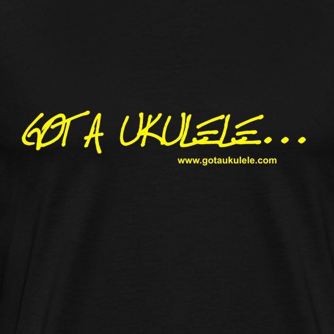 Premium shirt Got A Ukulele