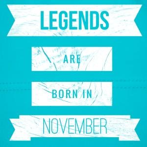 Legends born in november