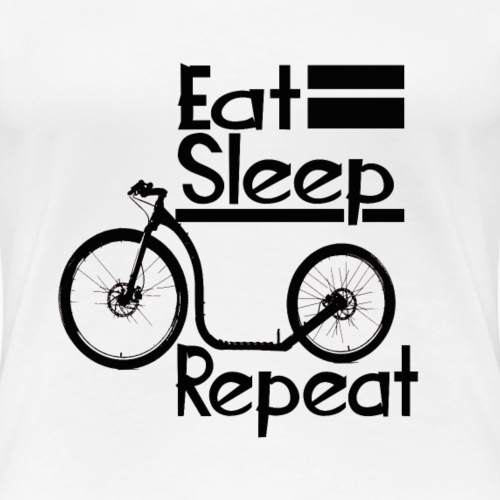 eat sleep tretroller