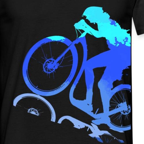 cross footbike blue