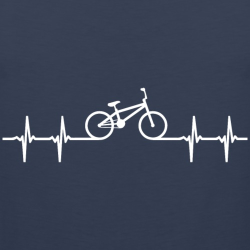 BMX fiets crossfiets hartslag