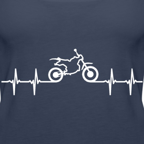 crossmotor hartslag lijn