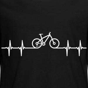 wielershirt mountainbike fiets hartslag