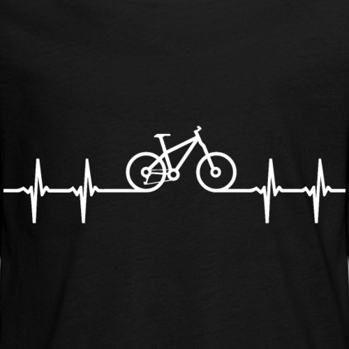 wielershirt mountainbike fiets hartslag